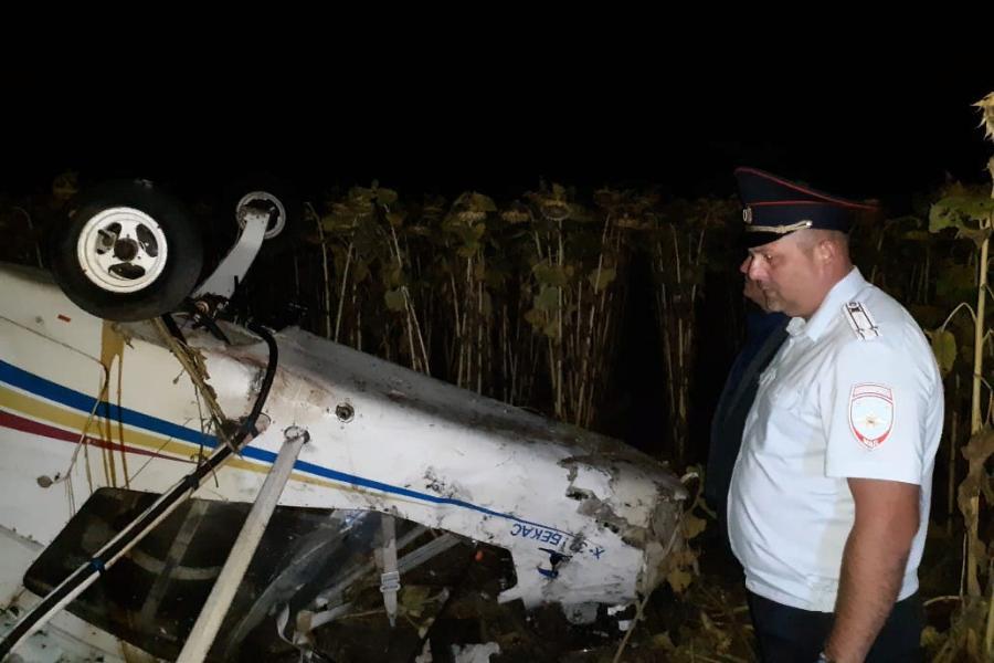 По факту крушения самолёта в Мичуринском районе возбуждено уголовное дело