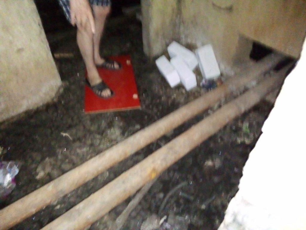 Подвал одного из домов Тамбова 5 лет заливает фекалиями