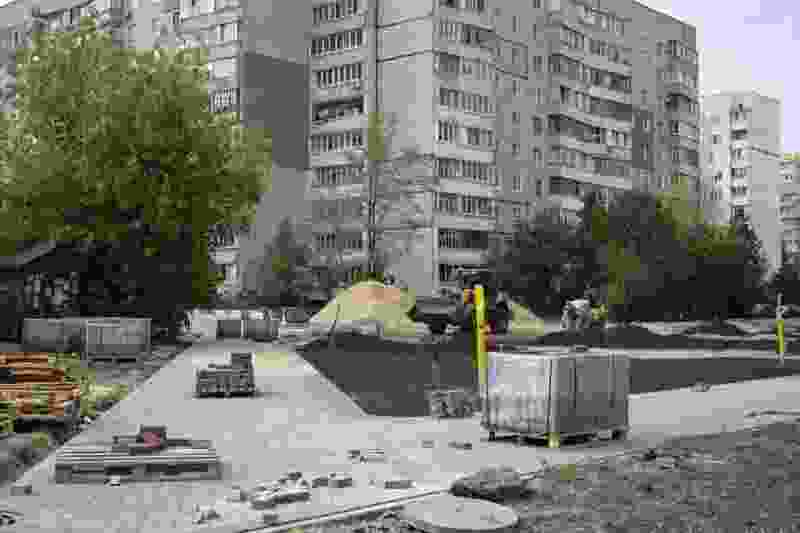 Сквер на Рылеева, 100 в Тамбове могут сдать в середине октября