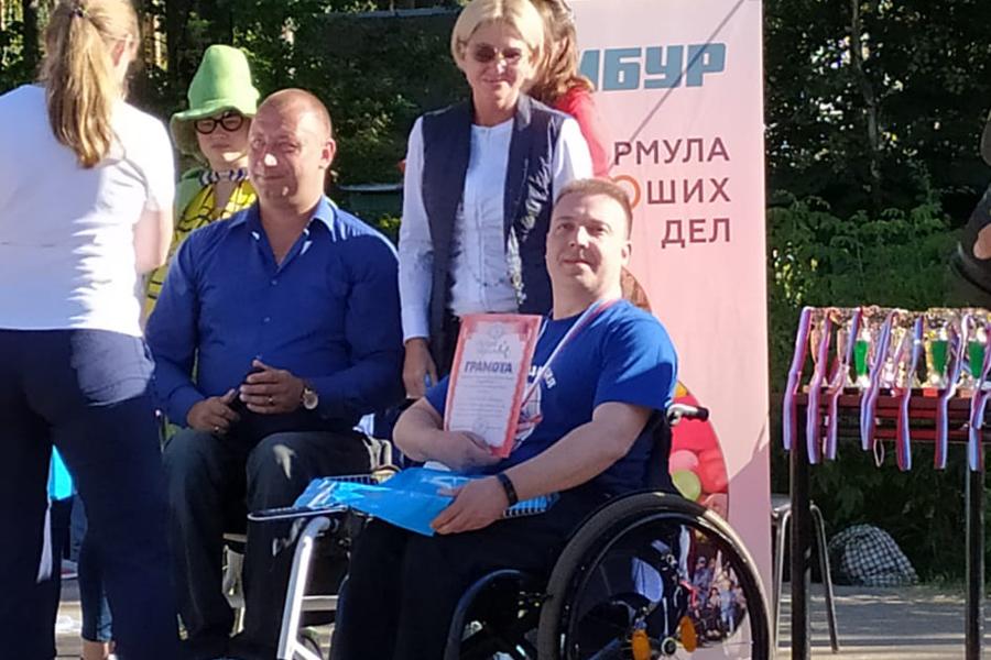 Спортсмены-инвалиды из Тамбова получили награды международного фестиваля