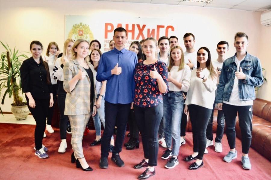 Студенты Тамбовского филиала РАНХиГС подготовили видеопоздравление ко Дню Академии