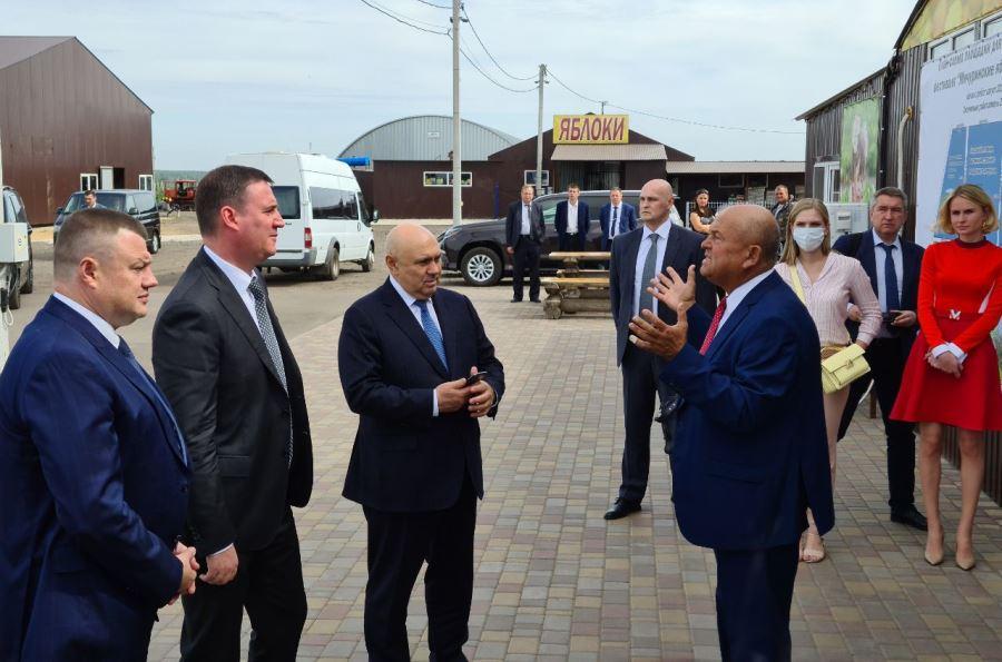 Тамбовскую область с рабочим визитом посетил министр сельского хозяйства РФ Дмитрий Патрушев