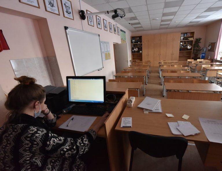 В 15 школах Тамбова часть классов перевели на дистанционку