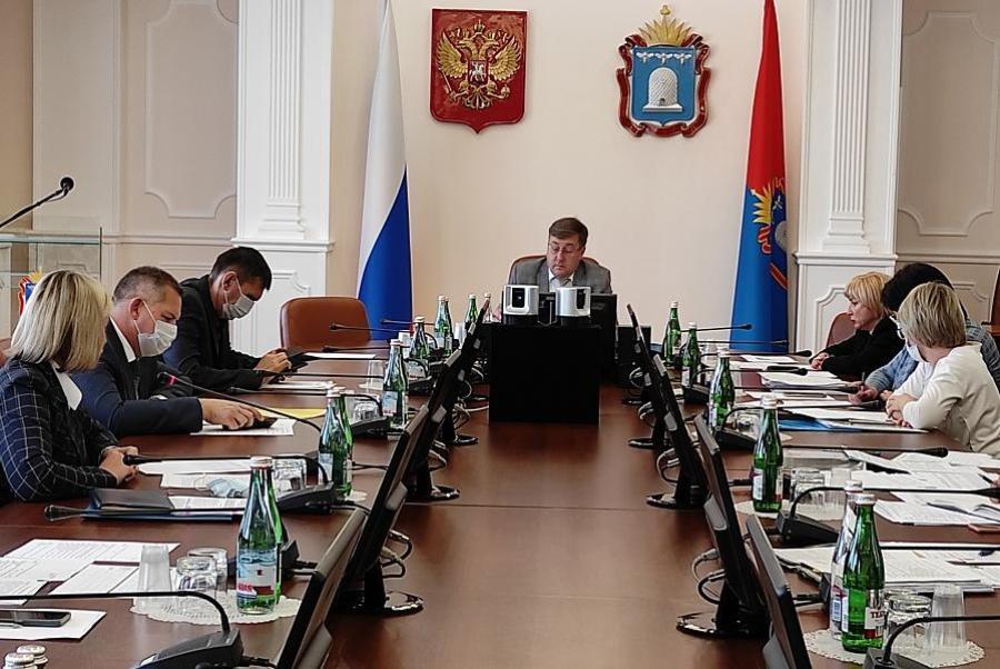 В администрации Тамбовской области обсудили реализацию нацпроектов