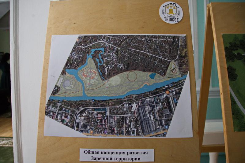 В ближайшие пять лет в Тамбове могут появиться три новых парка