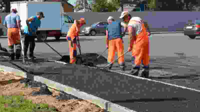 В этом году в Тамбове собираются отремонтировать 4 тротуара