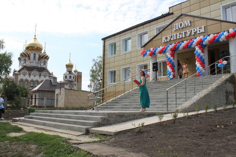 В Кирсановском районе после капитального ремонта открыли дом культуры