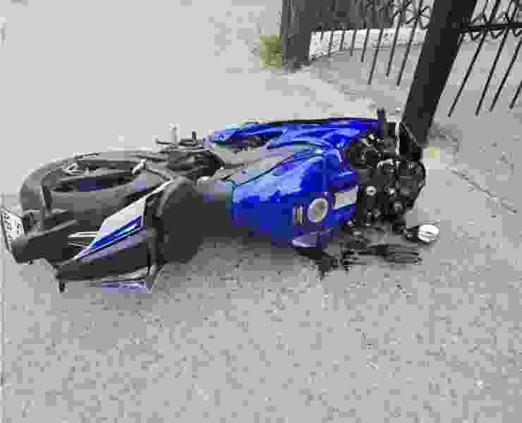 В Мичуринске парень на мотоцикле сбил пенсионерку