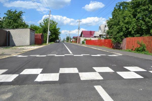 """В Рассказове отремонтировали улицы, отмеченные на """"Карте убитых дорог"""""""
