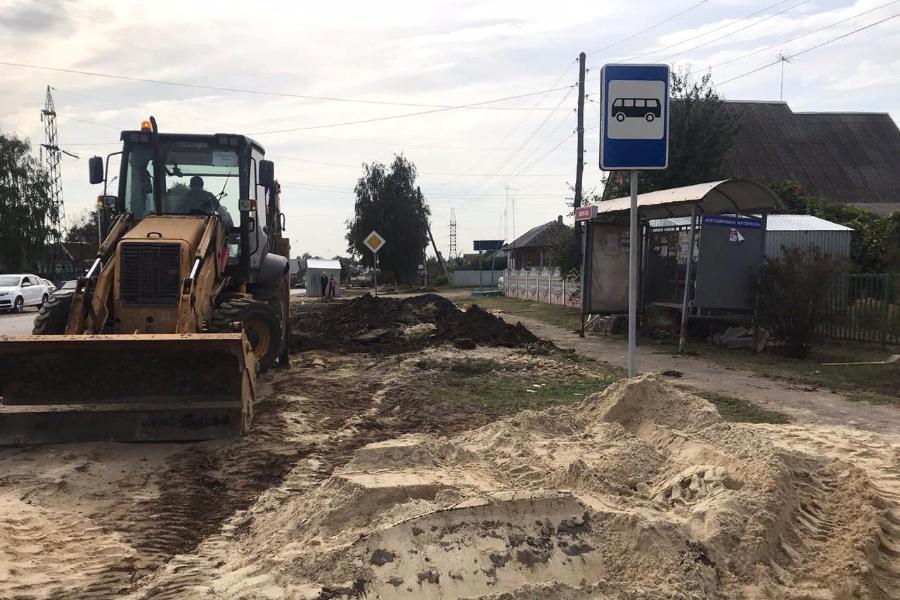 В Рассказово завершился первый этап реконструкции канализационного коллектора