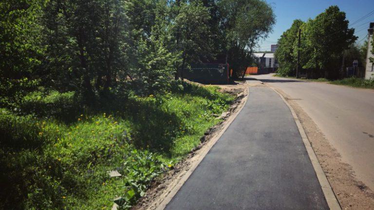 В регионе до конца года отремонтируют 90 километров тротуаров
