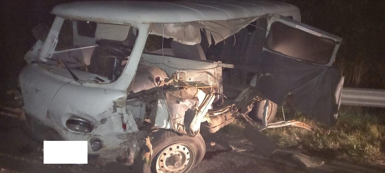В Ржаксинском районе водитель трактора протаранил УАЗ и скрылся