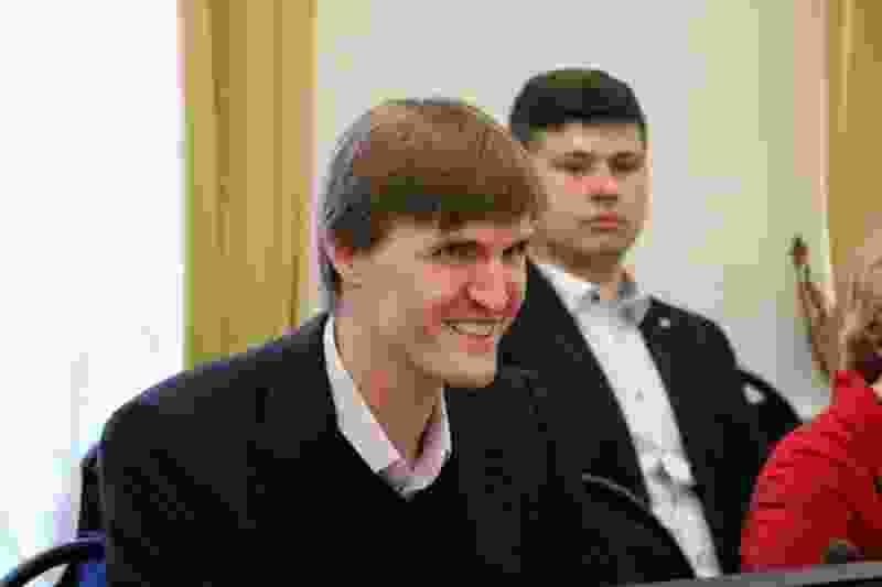 В Тамбов с рабочим визитом приехал президент Российской федерации баскетбола Андрей Кириленко