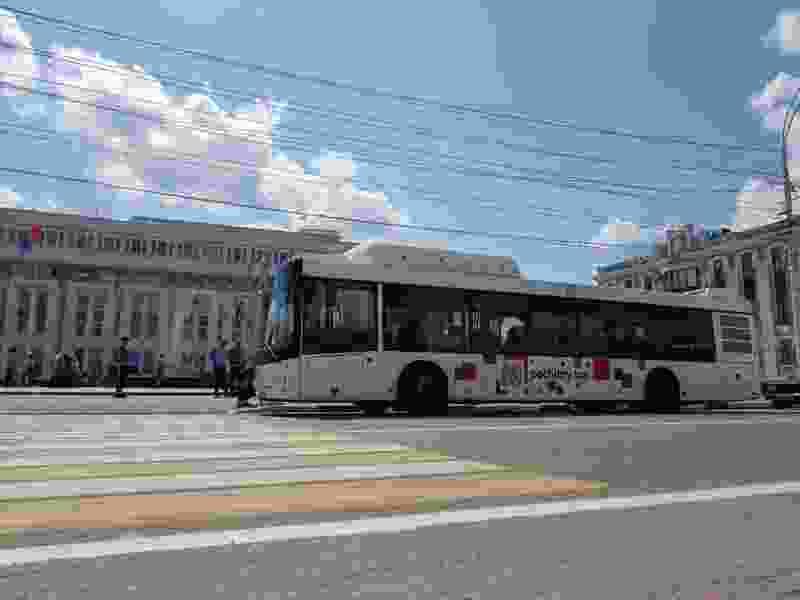 В Тамбове изменилось движение автобусов сразу на нескольких маршрутах