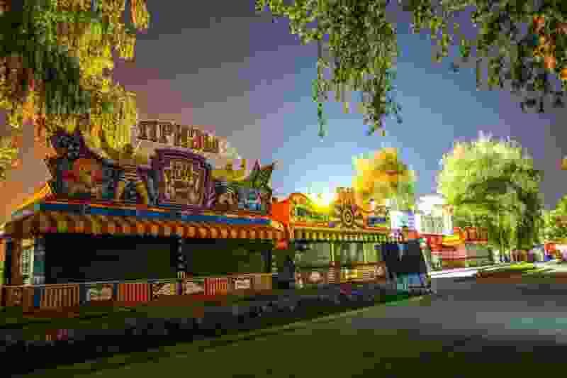В Тамбове обокрали местный парк аттракционов