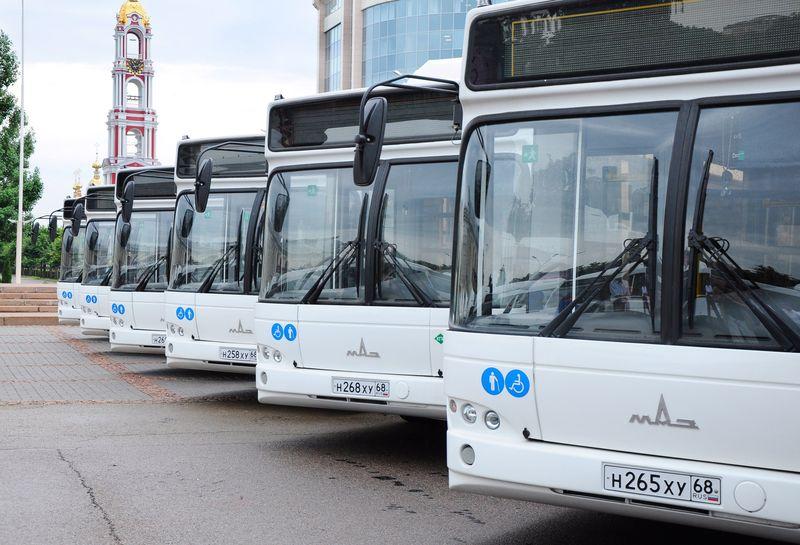 В Тамбове общественный транспорт будет ходить по новому расписанию