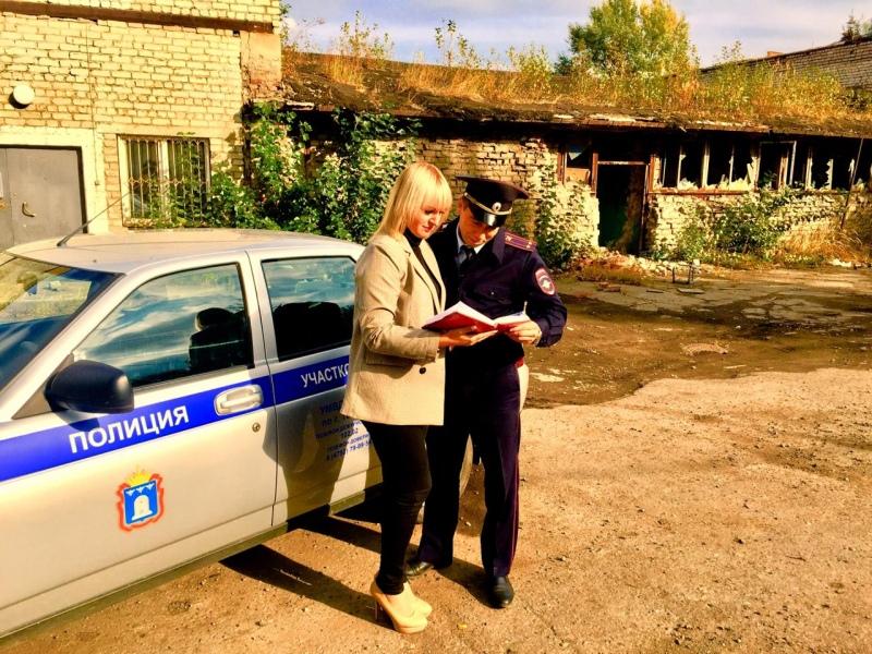 В Тамбове полицейские провели рейд по заброшенным стройкам