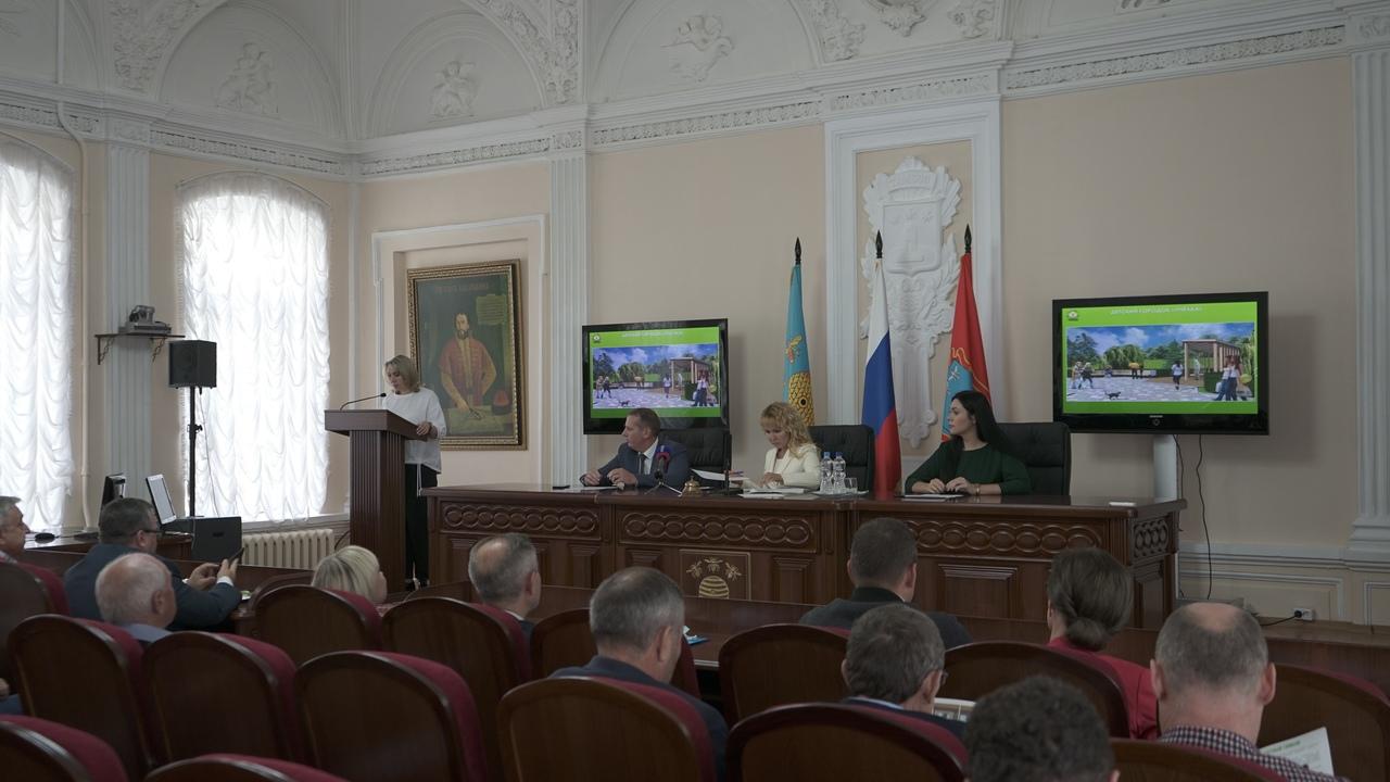 В Тамбове представили проект развития заречной территории