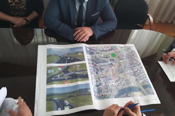 В Тамбове презентовали варианты реконструкции въезда в город с Рассказовского шоссе