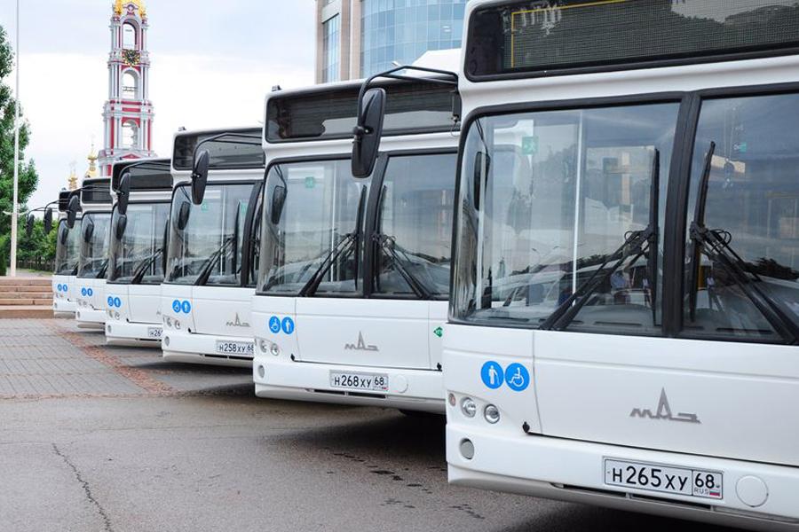В Тамбове произошли изменения в работе общественного транспорта
