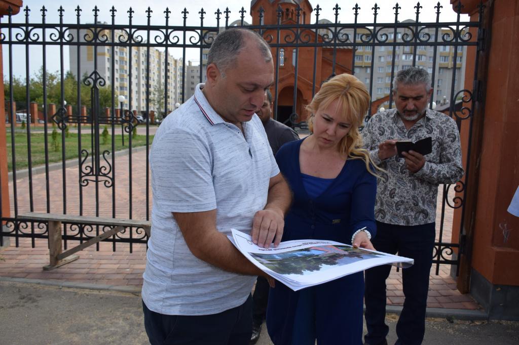 В Тамбове рядом с армянской церковью на Киквидзе появится новый сквер
