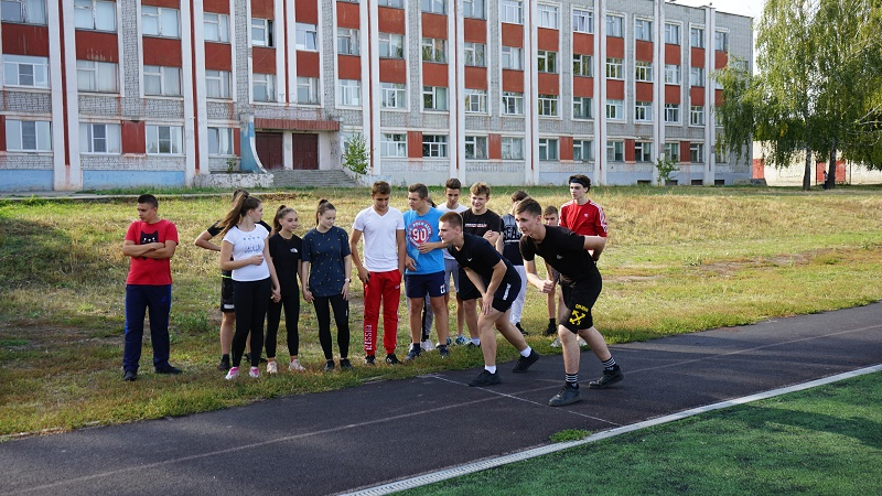 В Тамбове школьники приступили к сдаче нормативов ГТО