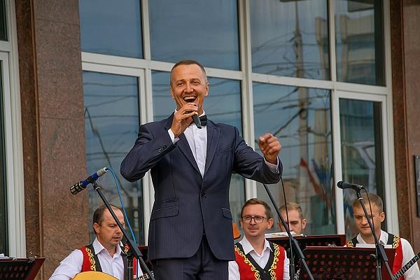 """В Тамбове состоялся концерт оркестра """"Россияне"""""""