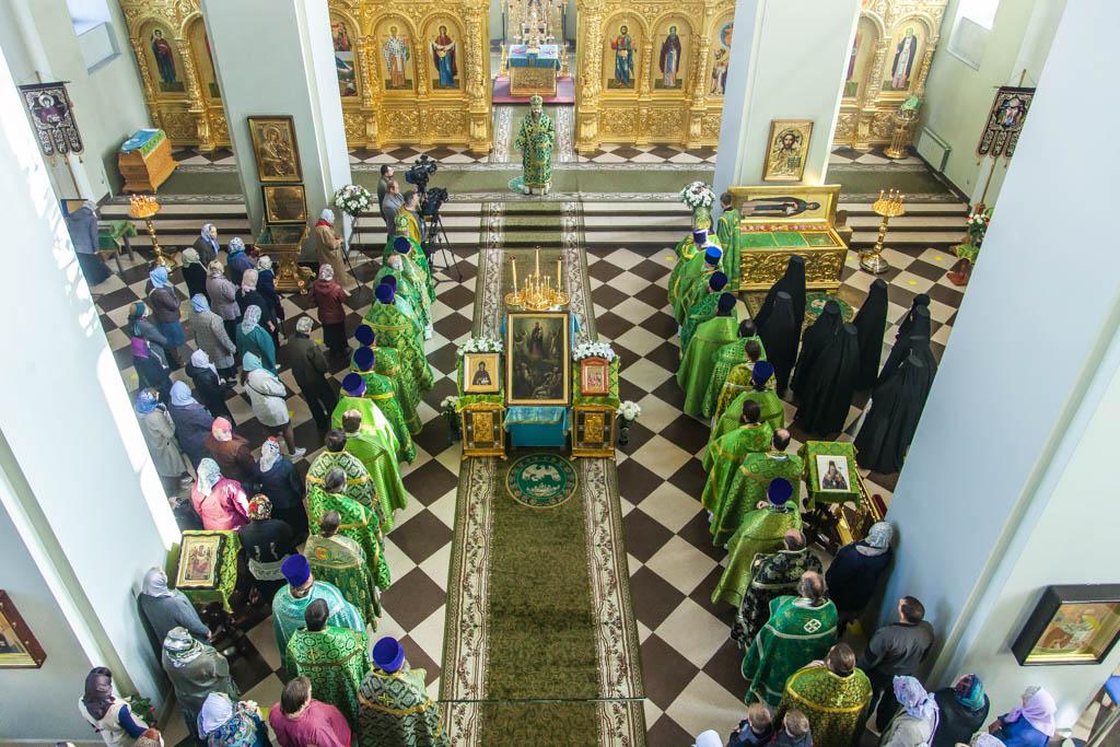 В Тамбове совершили крестный ход в честь преподобной Марфы