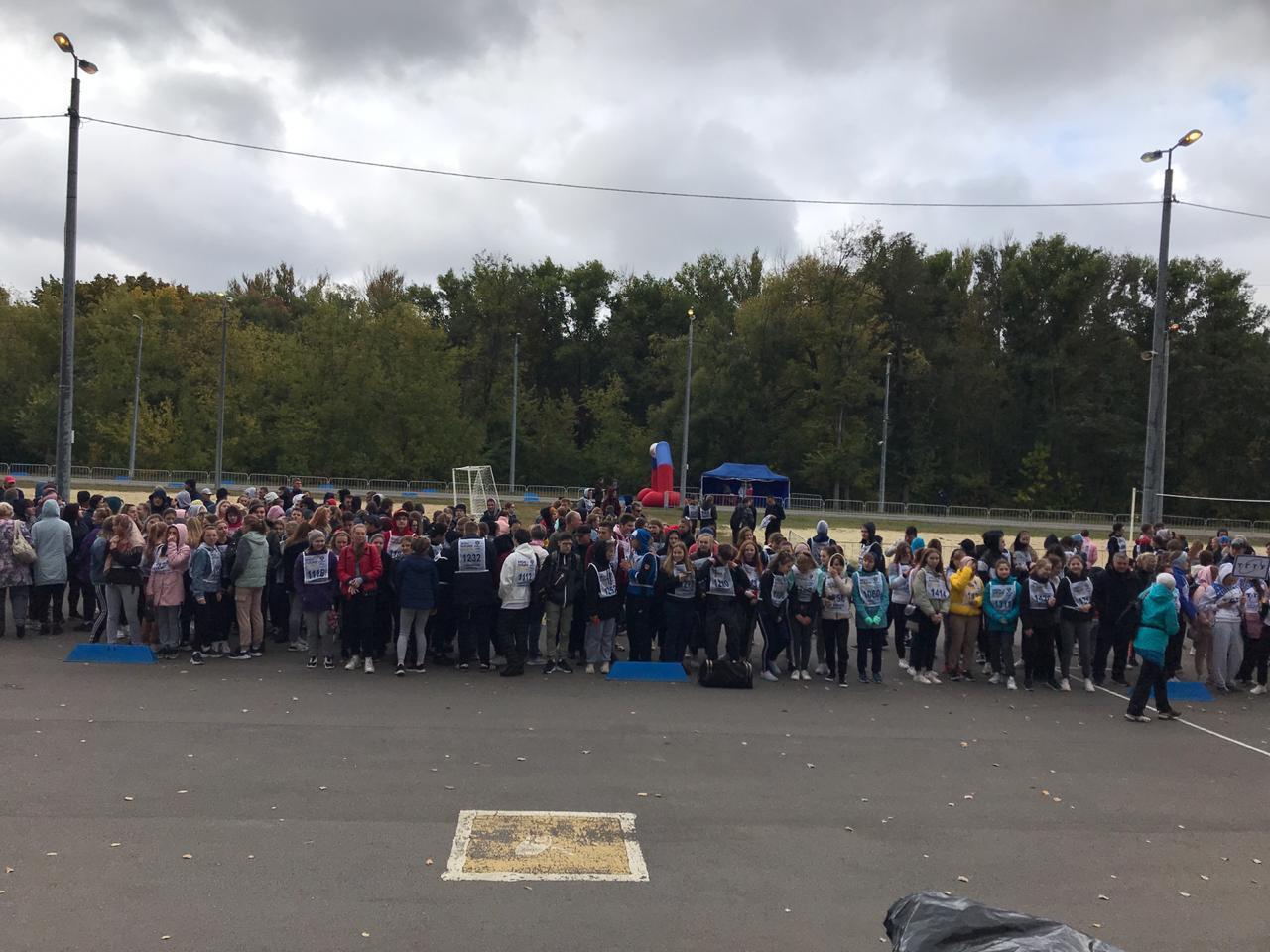 """В Тамбове стартовал региональный этап """"Кросса нации"""""""