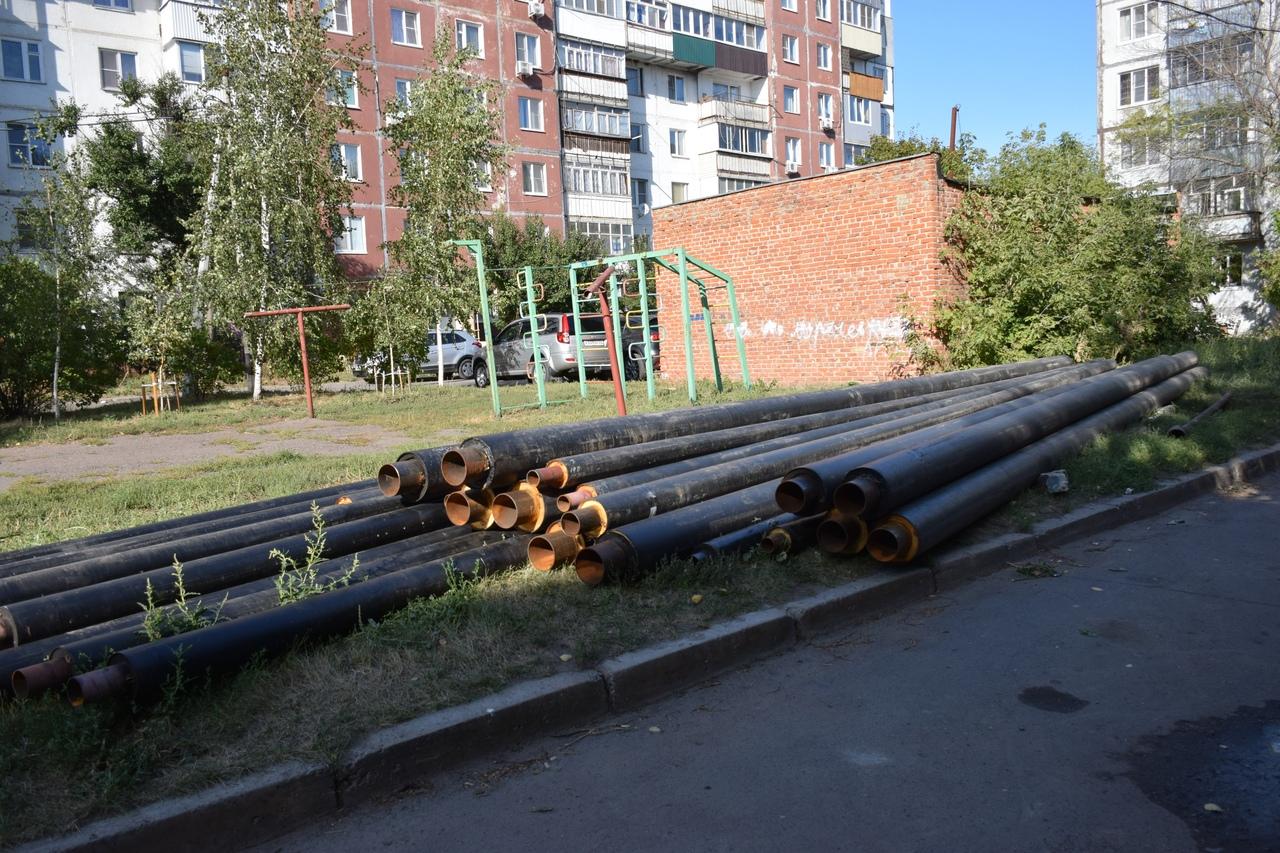 В Тамбове ведется ремонт изношенных участков теплопровода на ряде улиц
