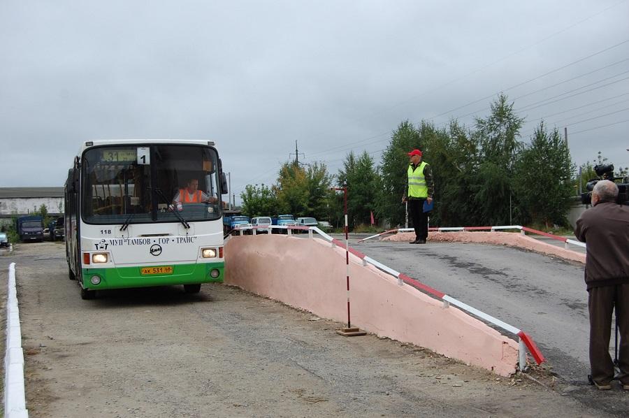 В Тамбове выберут лучших водителей автобусов и такси