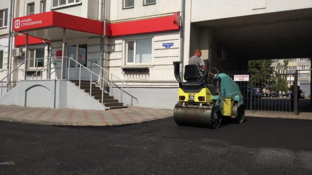 В Тамбове завершается ремонт дорог сразу на нескольких улицах