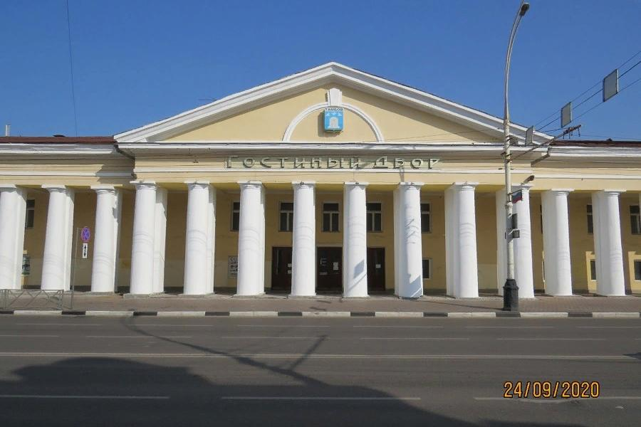 В Тамбове завершили ремонт фасада ГУМа