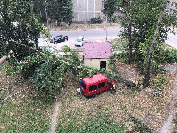 В Тамбовской области из-за урагана без электроэнергии остались более 4 тысяч домов