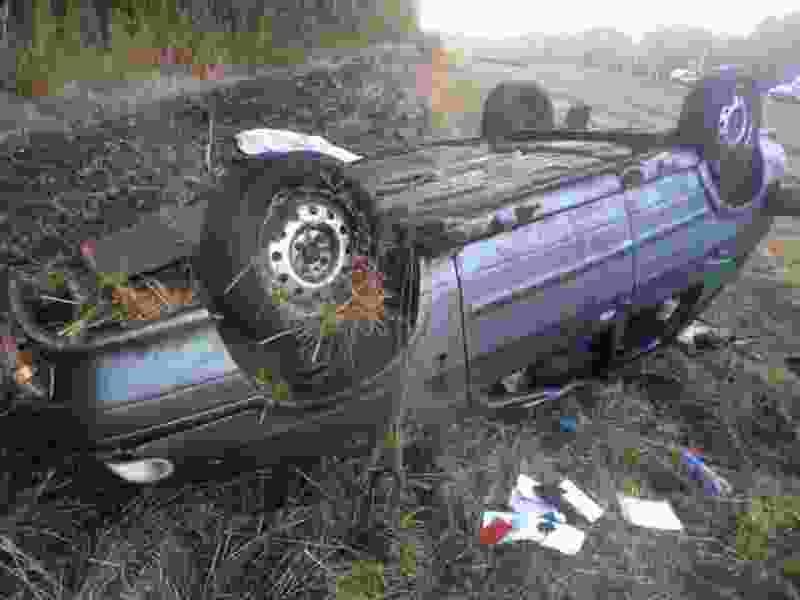 В Тамбовской области ночью столкнулись сразу три отечественные легковушки: водитель скончался на месте