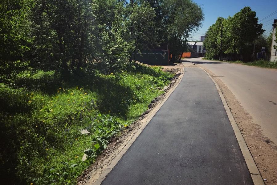 В Тамбовской области обустроят тротуары вдоль дорог с интенсивным движением и вблизи соцобъектов