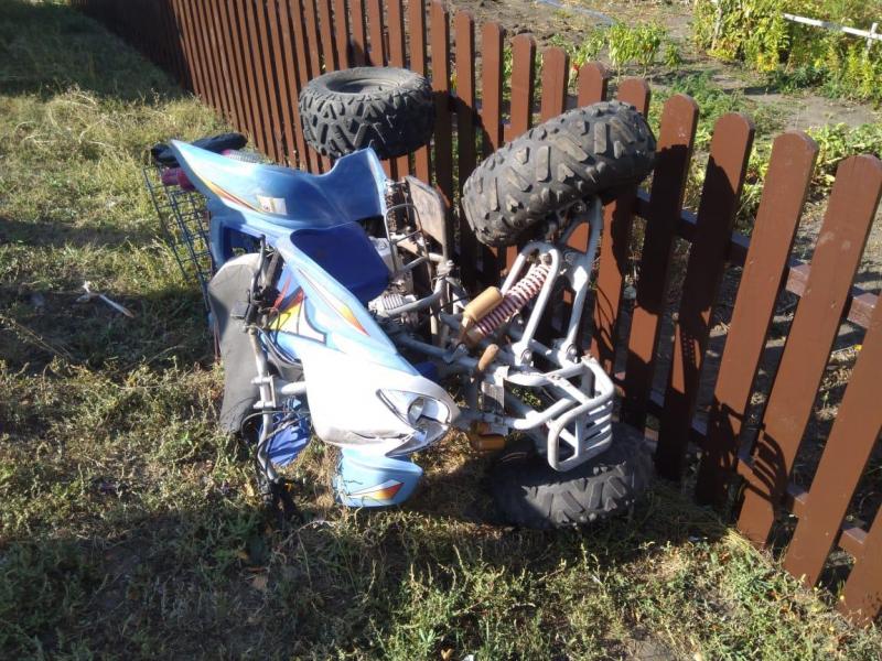 В Тамбовской области разбился насмерть пенсионер на квадроцикле
