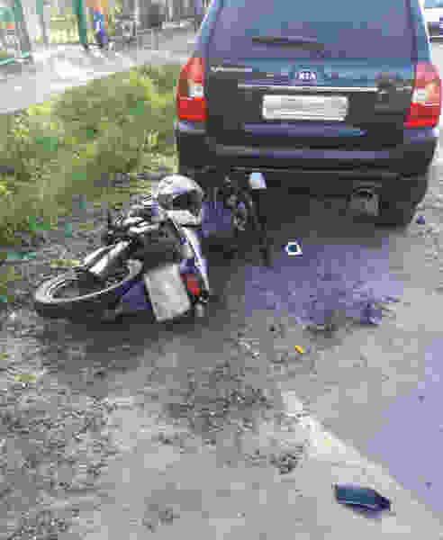 В Тамбовской области столкнулись мотоцикл и две иномарки: есть пострадавшие
