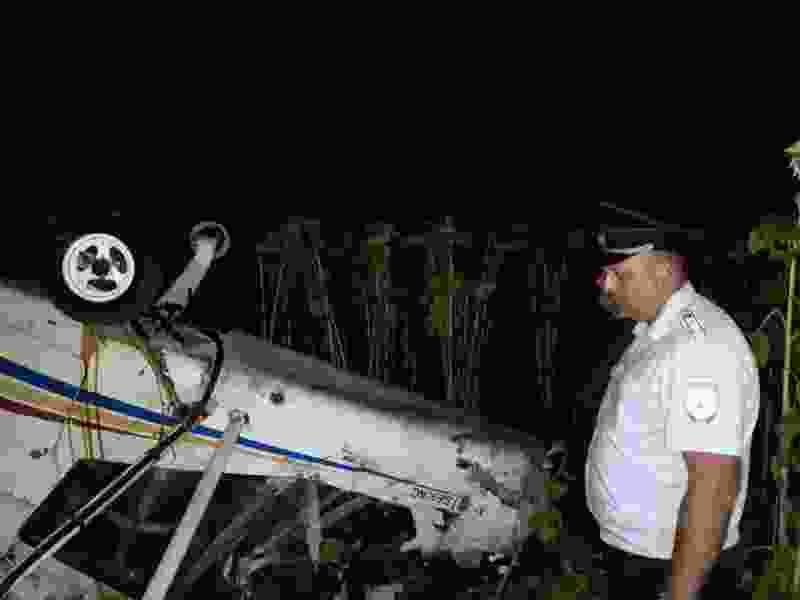 В Тамбовской области упал аэроплан: пилот скончался