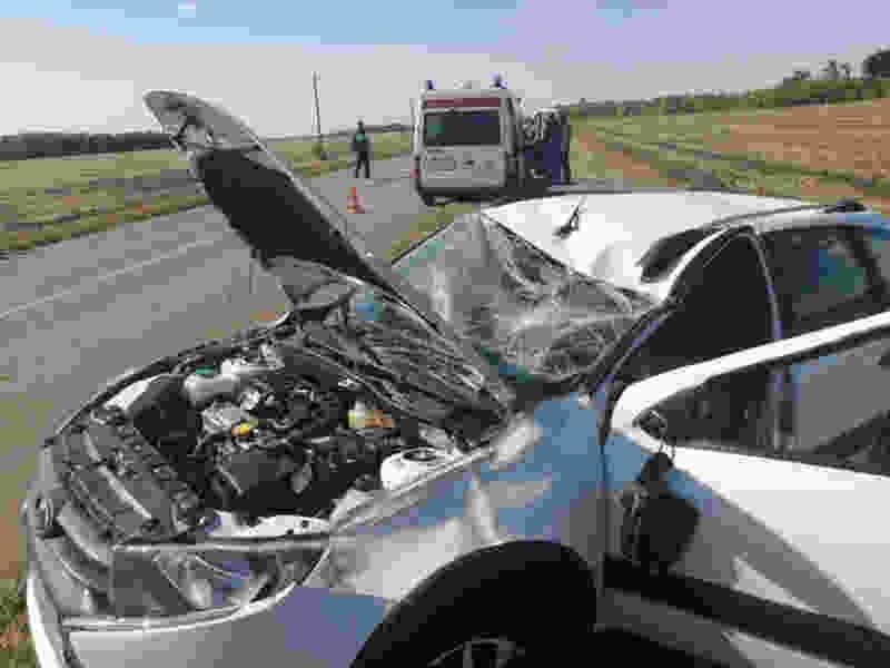В Тамбовском районе пенсионер на «Ладе» разбился в страшной аварии