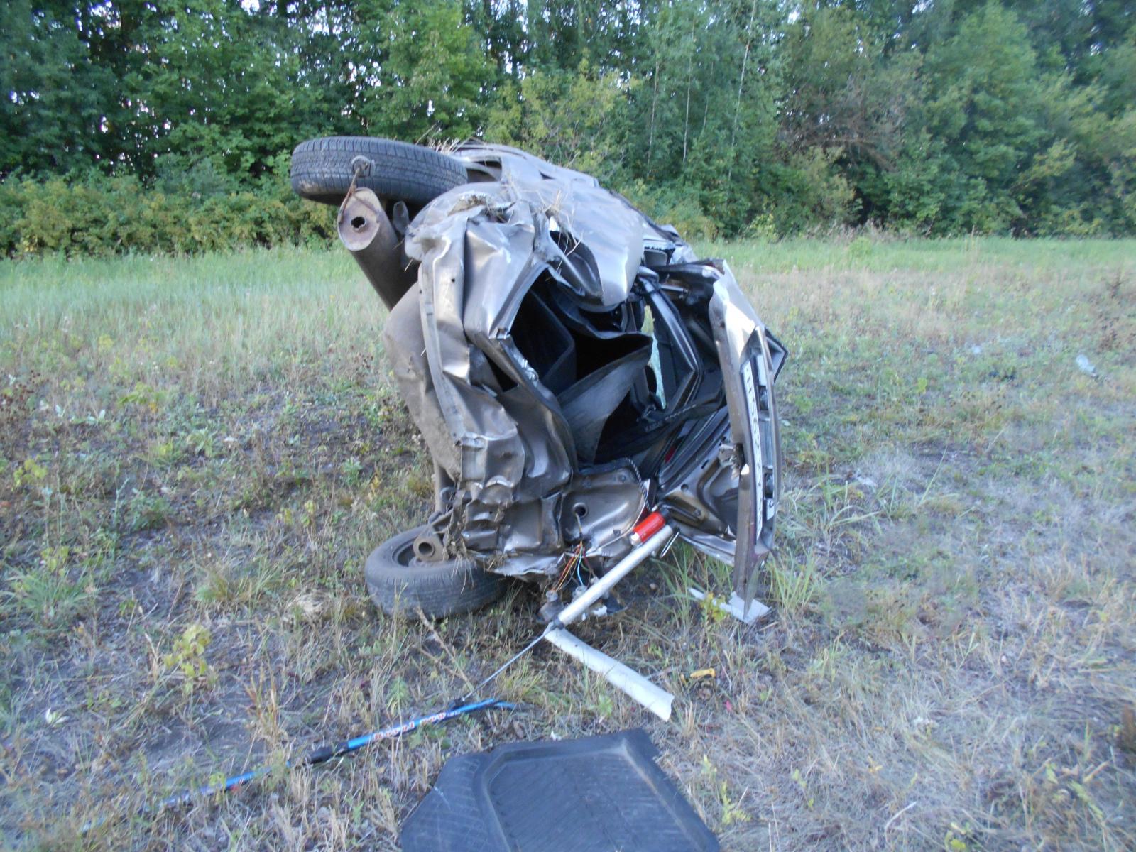 В Тамбовском районе в страшной аварии разбились насмерть три человека