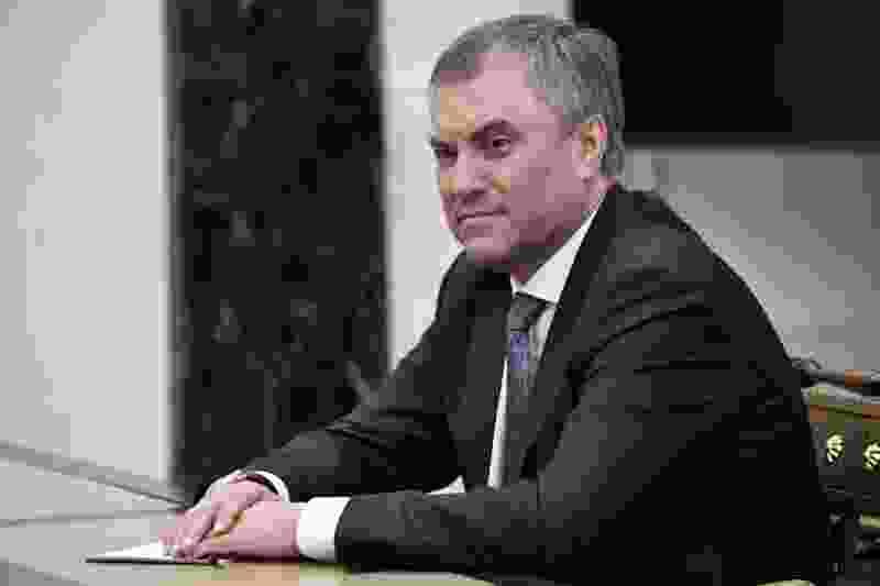 В Тамбовскую область приехал председатель Госдумы России Вячеслав Володин