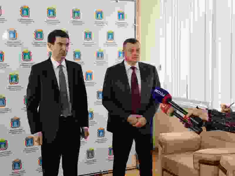 В Тамбовскую область с рабочим визитом прибыл полпред президента РФ Игорь Щёголев