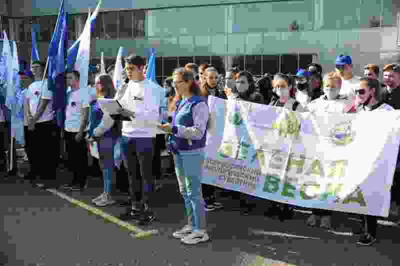 В ТГТУ провели эколого-патриотическую акцию