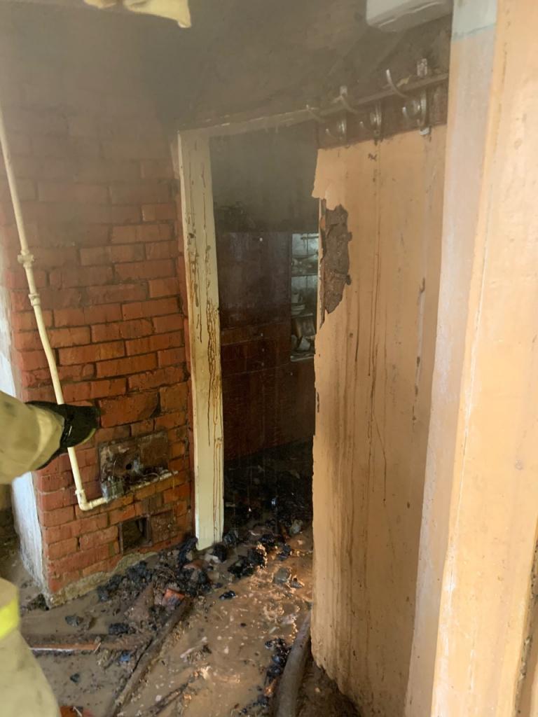 В центре Тамбова в пожаре погибли два человека