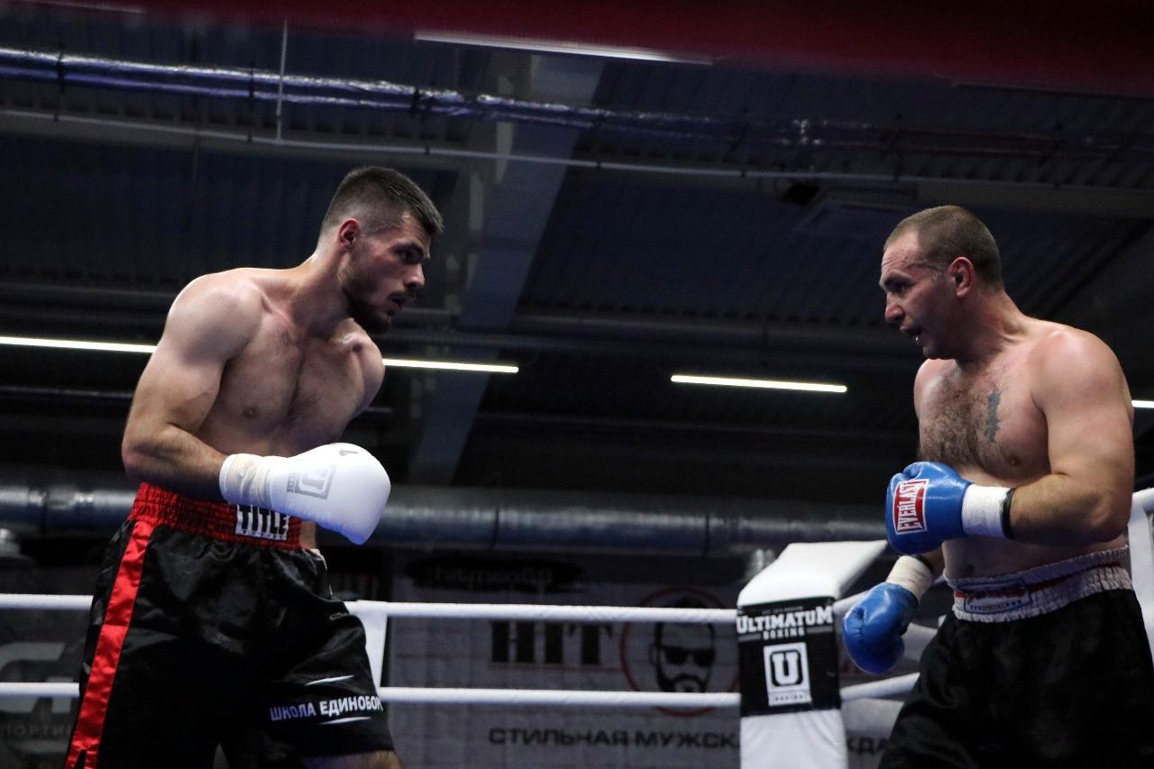 Вечер бокса в Тамбове завершился техническим нокаутом в первом раунде