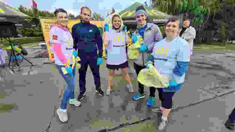 Волонтёры собрали полтонны отходов в Ласковском карьере