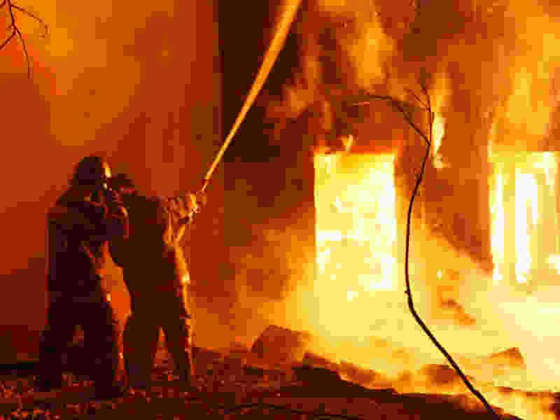 За выходные в Тамбовской области из-за пожара в домах погибли двое пенсионеров