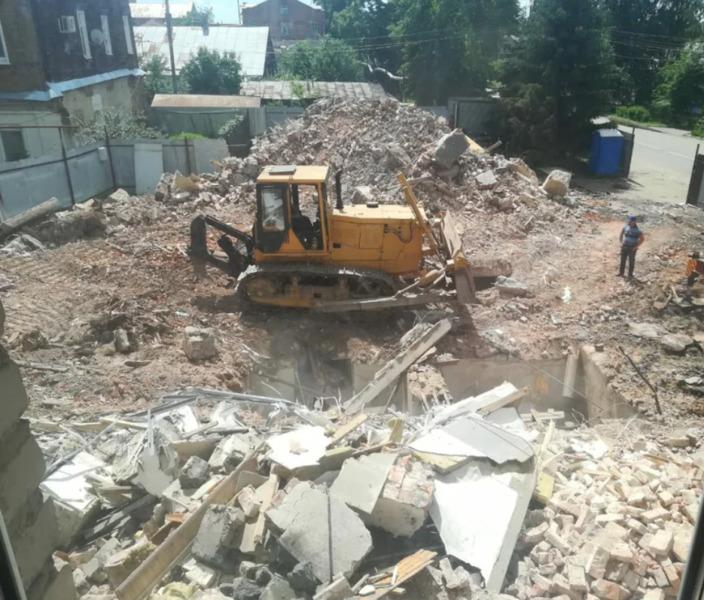Администрация Тамбова обратилась в прокуратуру из-за возобновления строительства на Андреевской