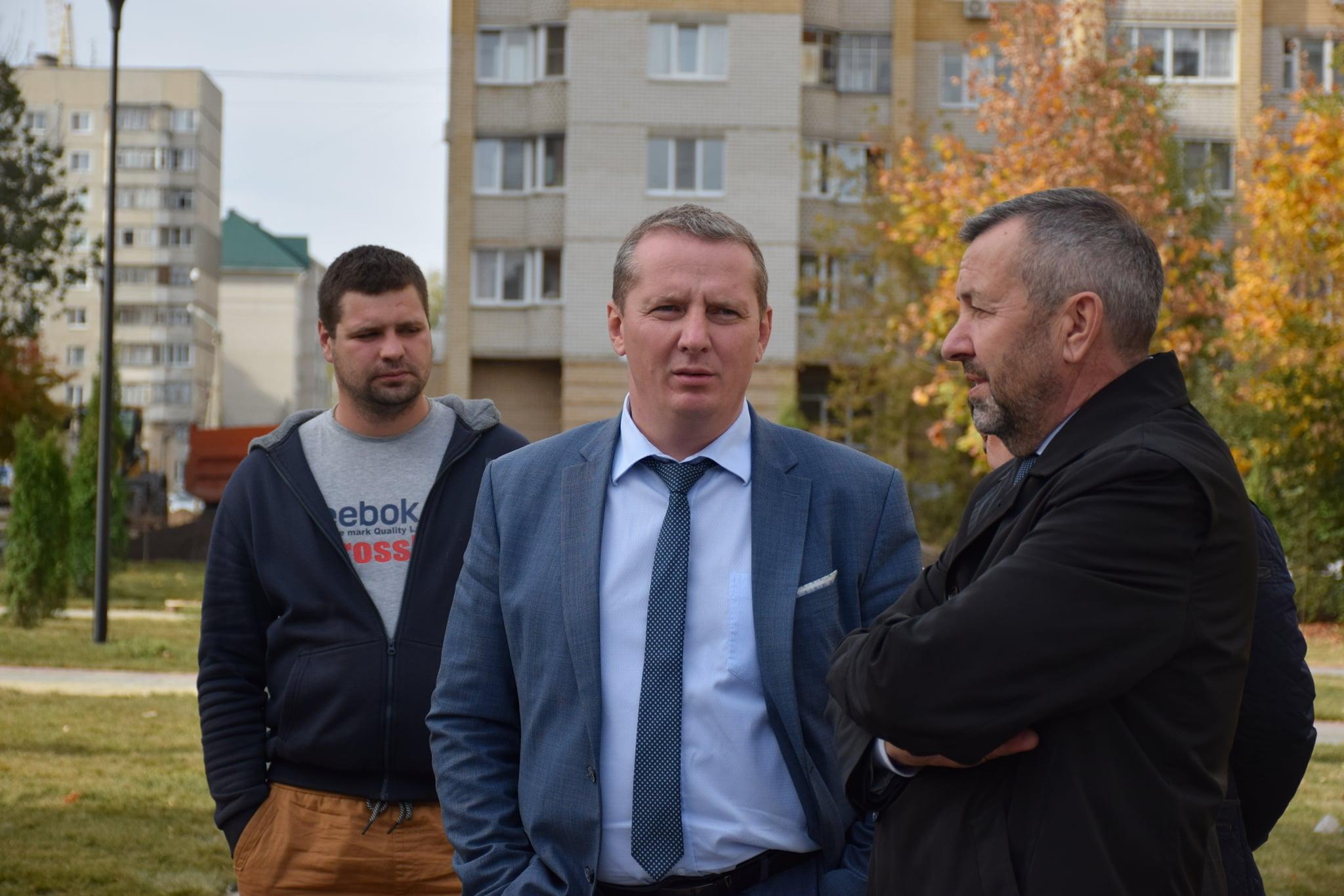 Благоустройство сквера на Рылеева завершат в середине октября
